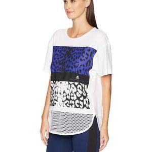 Adidas by Stella McCartney essential leopard tee